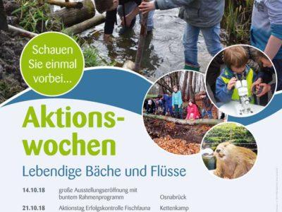 Ausstellungseröffnung und Auszeichnung jugendlicher Fließgewässerfreunde 14.10.