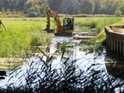Verbesserung der Strukturgüte in der Hase, Osnabrück Lüstringen